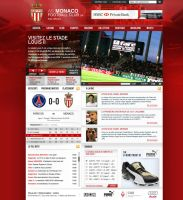 AS Monaco Website by Prom-at-niaX