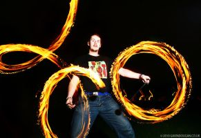 Fire Poi 8 by gdphotography