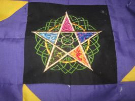 5 Elements Quilt part 4 by WillowForrestall