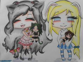 PC~You are our plushies by Deagni