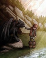 HTTYD: Forbidden Friendship by paperpixy