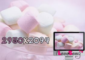 Wallpaper Marshmallow by oOILOVESONGOo