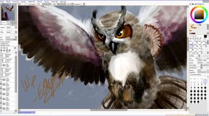 WIP- owl by Arcnim