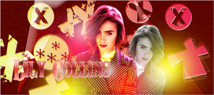 HEADER: Lily Collins by chazzief