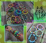 Kandi Bead Bracelets! - Taking orders! by Black-Heart-Always