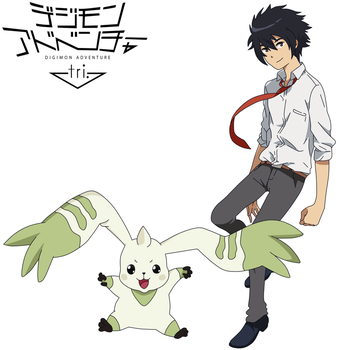 [Digimon Adventure Tri Version] Wilko And Terrierm by WilkoNaru