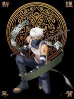 Kakashi anbu by psychic-shadow