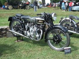 1937 Vincent Series A Rapide Twin 998cc by Aya-Wavedancer