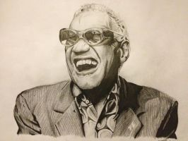 Ray Charles by GuyRJeffries
