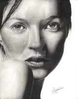 Kate Moss by Anthony-Woods