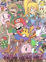 super smash bros brawl by Nintenderp23