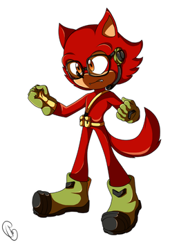 Custom to Sonic Forces by GuilleWolf
