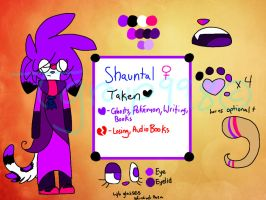 Official 2014 Shauntal Reference Sheet by INSPECTORGH0ST