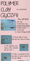 Polymer Clay GYOZA Tutorial!! :3 by claymasey98
