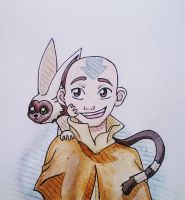 Aang - Art Exchange Meme by starbuxx