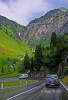 Driving down the Arlberg Pass by annamnt