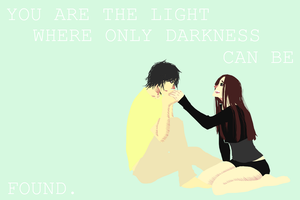you are the fire in my veins. by ParanoidWaffles