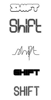 shift logo competition by nozm