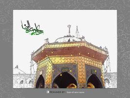 Imam Reza by time-of-new-moon