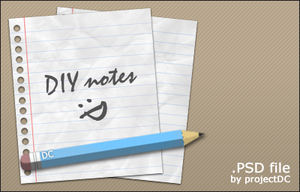 DIY notes by projectDC