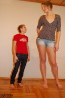 Tall Baltic woman compare by lowerrider