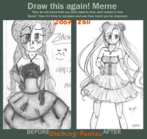 Draw this again Meme 2007-2011 by Stalking-Pantsu