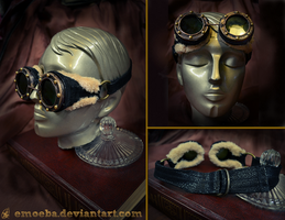 Steampunk Goggles by Emoeba
