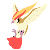 Pidgeot from normal team, Corban by CleverConflict