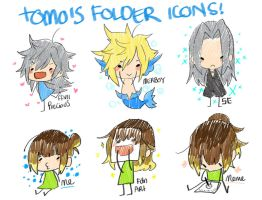 + Folder icons + by Bunny-Boss