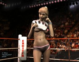 Romy, the ring announcer by Nicholas2004