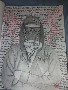 hollywood undead - charlie scene ( full pic ) by asce6666