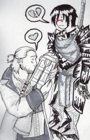 DA2- Varric's love by RuaGall