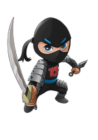 COMMISSION: TCK Ninja by mark331