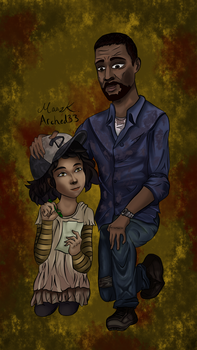 The Walking Dead Game - Love by arched33
