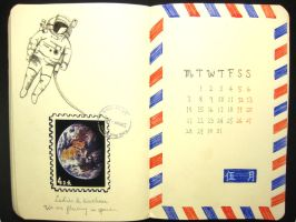 5th page of 2012 calendar by wwei