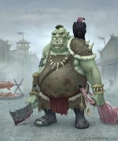 Orc Cook by joelhustak