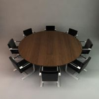 Conference Table 3D Model by wilde-media