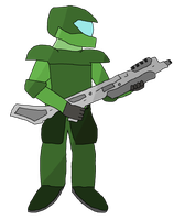 Planitary Trooper by DarkDrako