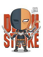 Deathstroke Minigeek by Costalonga