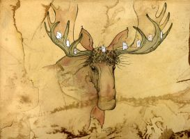 Merry Christmas Moose 2008 by shadowgirl