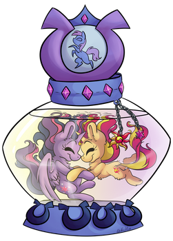 [Commission] SunLight's Bootle by CutePencilCase