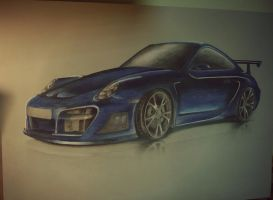 porsche 911 turbo by Baryy