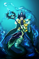 Nami the Tidecaller by Pulse-of-Gravity