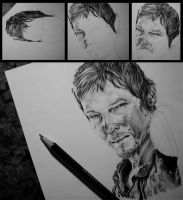 Daryl Dixon by mrs-pookie