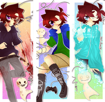 Crycest: Everlasting - Bookmarks [Set1] by Nadi-Chan
