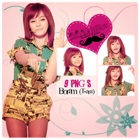 Pack PNG Boram (T-ara) by GAJMEditions