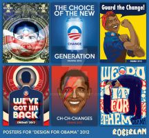 Obama Posters by roberlan