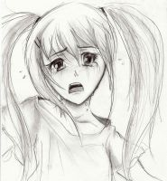 Crying Girl by Luisabel123