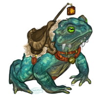 Frog mount by umbrafen