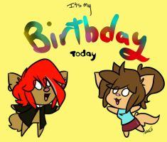 My B-day by sapphireweasel25